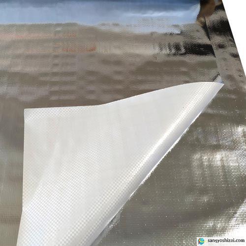 KS 強力アルミ反射シート 生地拡大